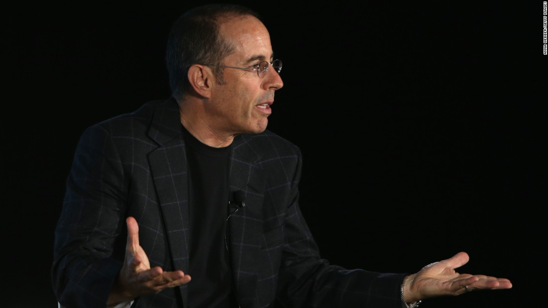 "Comedian Jerry Seinfeld told ESPN that he thinks the politically correct climate on college campuses hurts comedy. ""They just want to use these words: 'That's racist, that's sexist, that's prejudiced.' They don't even know what they're talking about,"" he said."