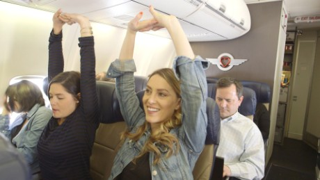 5 ways to not freak out on a plane