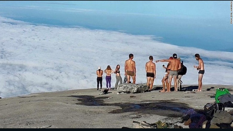 Locals blame earthquake on nude tourists