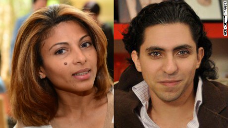 Wife of flogged Saudi blogger appeals directly to King