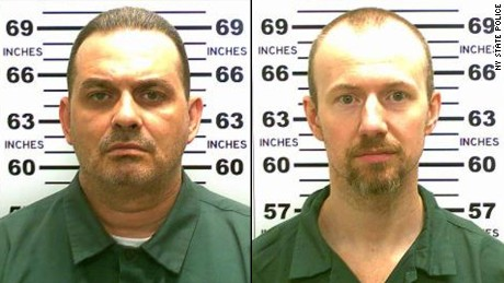 Richard Matt, left, and David Sweat
