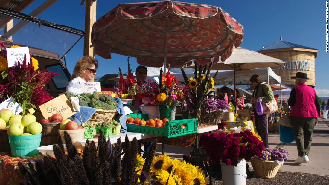 The Santa Fe Farmers Market