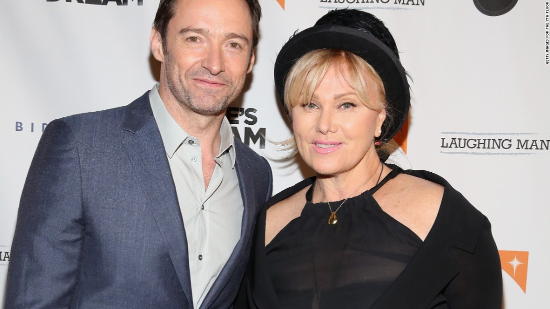 "Hugh Jackman and his wife, Deborra-Lee Furness, attend the premiere of ""Dukale's Dream"" on June 4 in New York City."