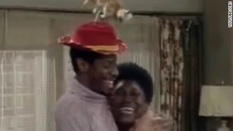 "Jimmie Walker and Ester Rolle starred on the CBS TV show ""Good Times."""
