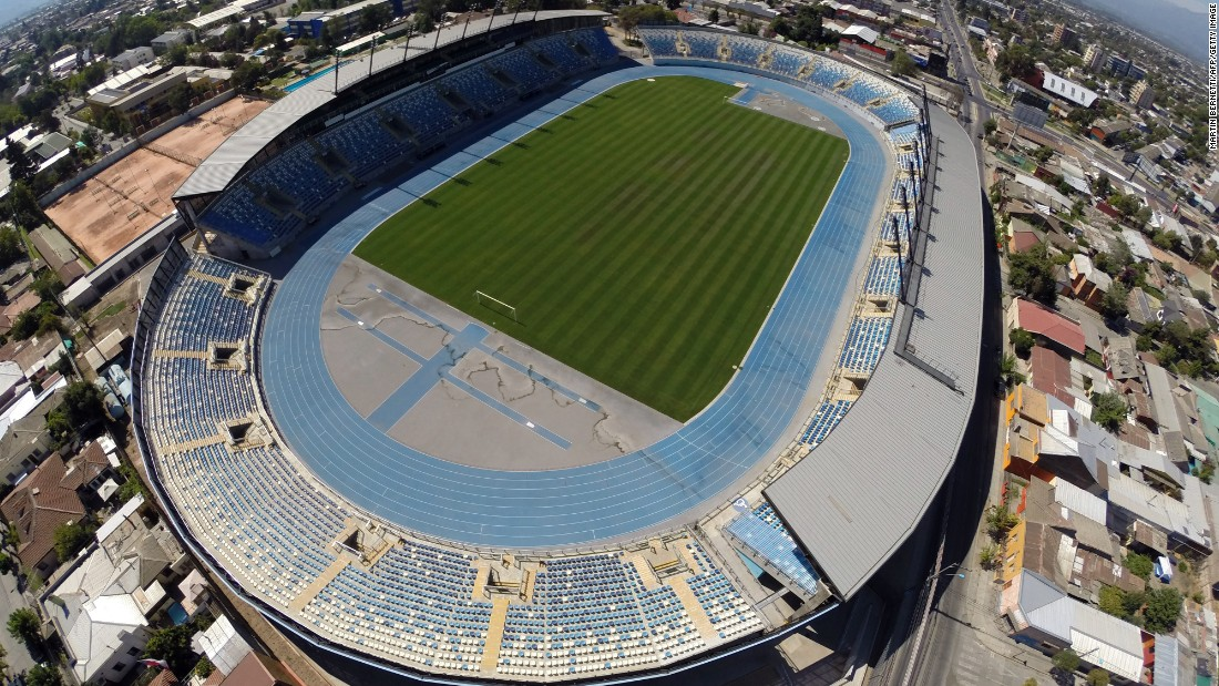 Estadio El Teniente is the home of 2014 first division champion O'Higgins -- named after Bernardo O'Higgins, who helped free Chile from Spanish rule during the Chilean War of Independence, and has a capacity of 14,087.