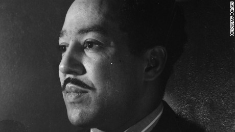 Langston Hughes is helping people get through this election