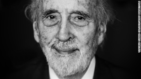 LOCARNO, SWITZERLAND - AUGUST 07: (EDITORS NOTE: This image was processed using digital filters) Sir Christopher Lee attends a photocall during the 66th Locarno Film Festival on August 7, 2013 in Locarno, Switzerland.  (Photo by Vittorio Zunino Celotto/Getty Images)