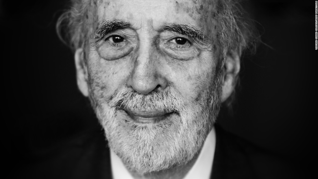 "<a href=""http://www.cnn.com/2015/06/11/entertainment/christopher-lee-dies/"" target=""_blank"">Christopher Lee</a>, the British actor who mastered horror and Dracula roles before his turns as a Bond villain and the wizard Saruman in the ""Lord of the Rings"" trilogy, died June 7, a London borough spokesman said. He was 93."