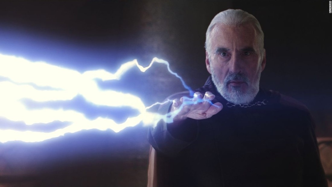 "In 2002, Lee plays Count Dooku, also known as Darth Tyranus, in ""Star Wars Episode II: Attack of the Clones."""