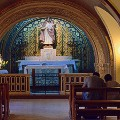 Pope hometown argentina- inside chapel