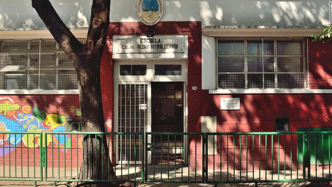 Pope Francis attended a mixed primary school called Escuela Pedro Antonio Cerviño.
