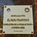 Pope hometown argentina- second home