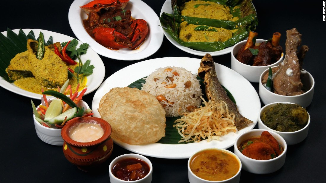 For some of the best eating in India, head for Kolkata, the capital of West Bengal. Traditional Bengali family recipes passed down through generations continue to thrill taste buds.<br />A traditional Bengali food thala (platter), as seen here, is a great way to kick off your Kolkata dining experience.