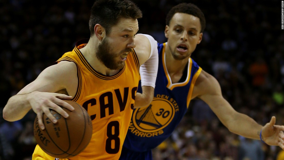 """Annoying"" Dellavedova thriving as LeBron's side-kick - CNN.com"