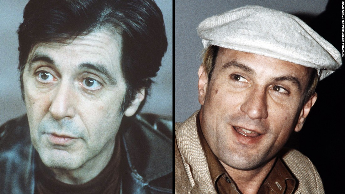 "No, Al Pacino, left, and Robert De Niro don't favor each other that much. But who hasn't mistaken one of the great Italian-American actors for the other? The pair first appeared onscreen together<a href=""http://www.ifc.com/fix/2014/12/15-things-you-probably-didnt-know-about-heat"" target=""_blank""> in the same scene in 1995's ""Heat,""</a> to much fanfare."