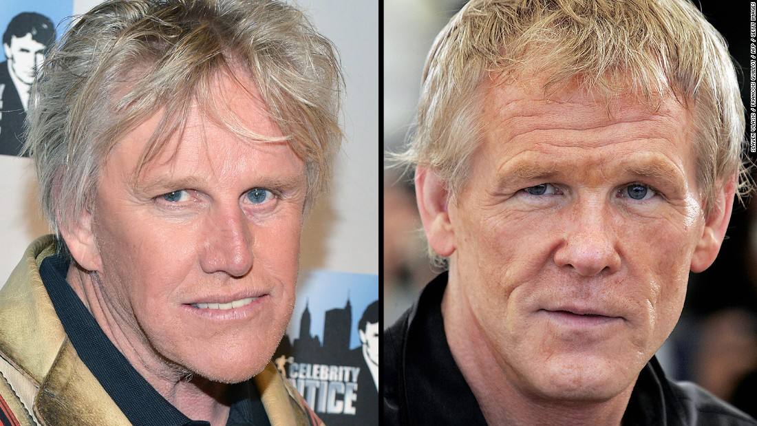 As their long careers in Hollywood continue, actors Gary Busey, left, and Nick Nolte are obviously becoming the same person.