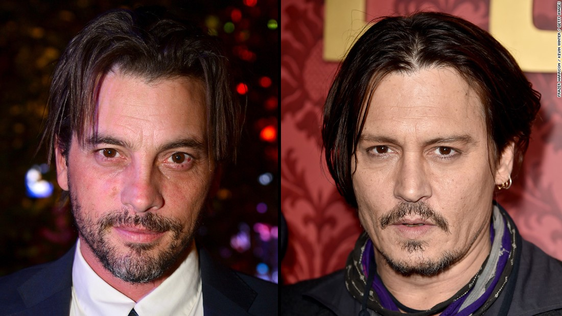"Actor Skeet Ulrich, left, was often deemed ""the poor man's Johnny Depp"" when he first appeared on the scene. Ulrich has achieved career traction with TV roles on ""Jericho"" and ""Law & Order."""
