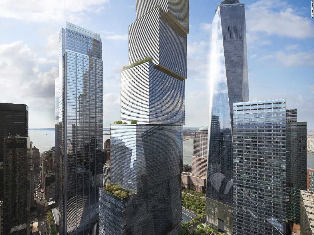 New World Trade Center Tower Unveiled Cnn
