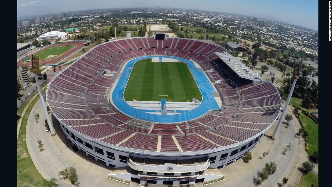 The Estadio Nacional, which has a capacity of 47,000, hosted all of Chile's group stage matches and is also the final venue. The other stadium in Santiago is El Monumental, home of Chile's most successful football team, Colo-Colo.
