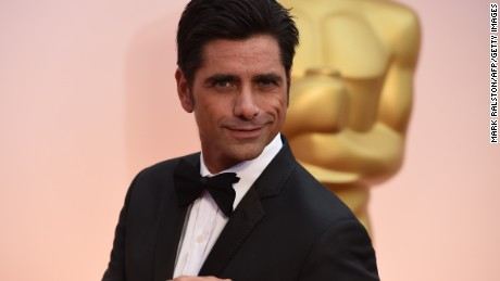 John Stamos arrives Oscars in February 2015 in Hollywood, California.