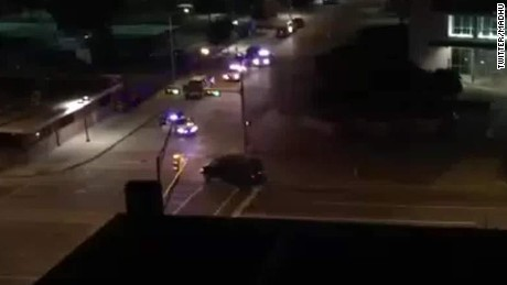 Witness in Dallas police shooting describes the scene
