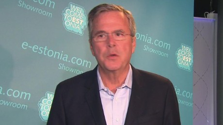 Dana Bash explains Jeb Bush's trip to Europe