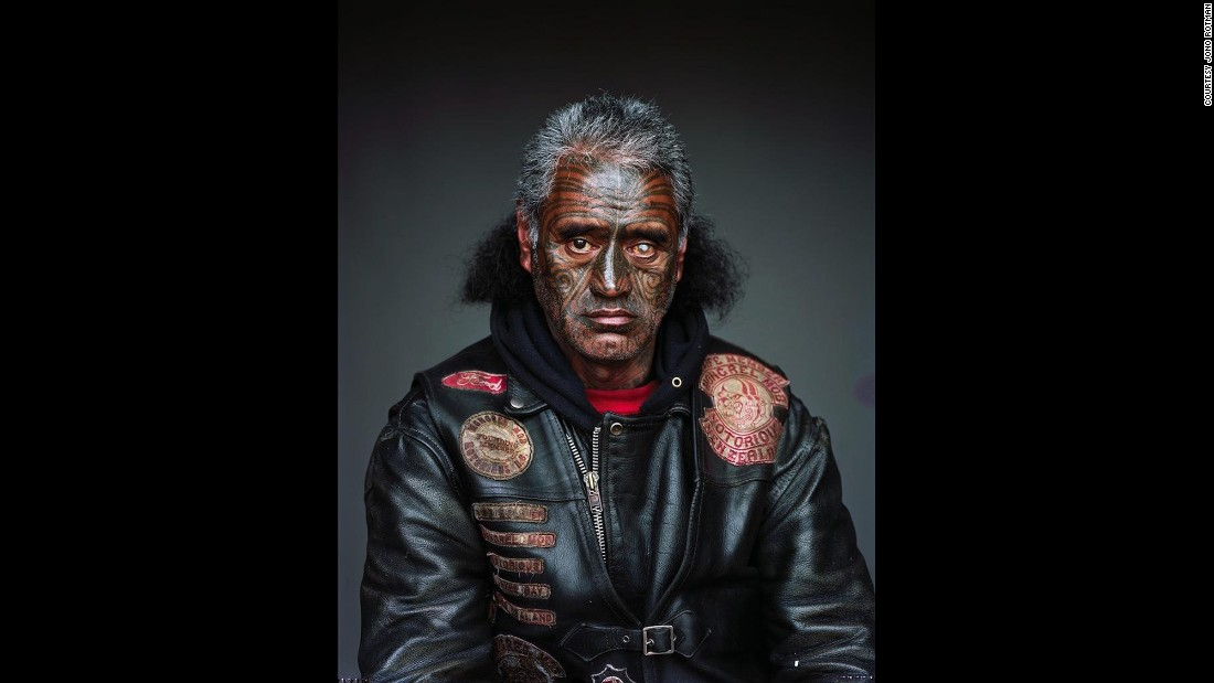 These haunting portraits by photographer Jono Rotman offer a close look at the largest gang in New Zealand, the Mongrel Mob.  After coordinating with a gang liaison, Rotman met mob members and gained unprecedented access to them. He took these portraits inside their homes from 2008 to 2014.<br />