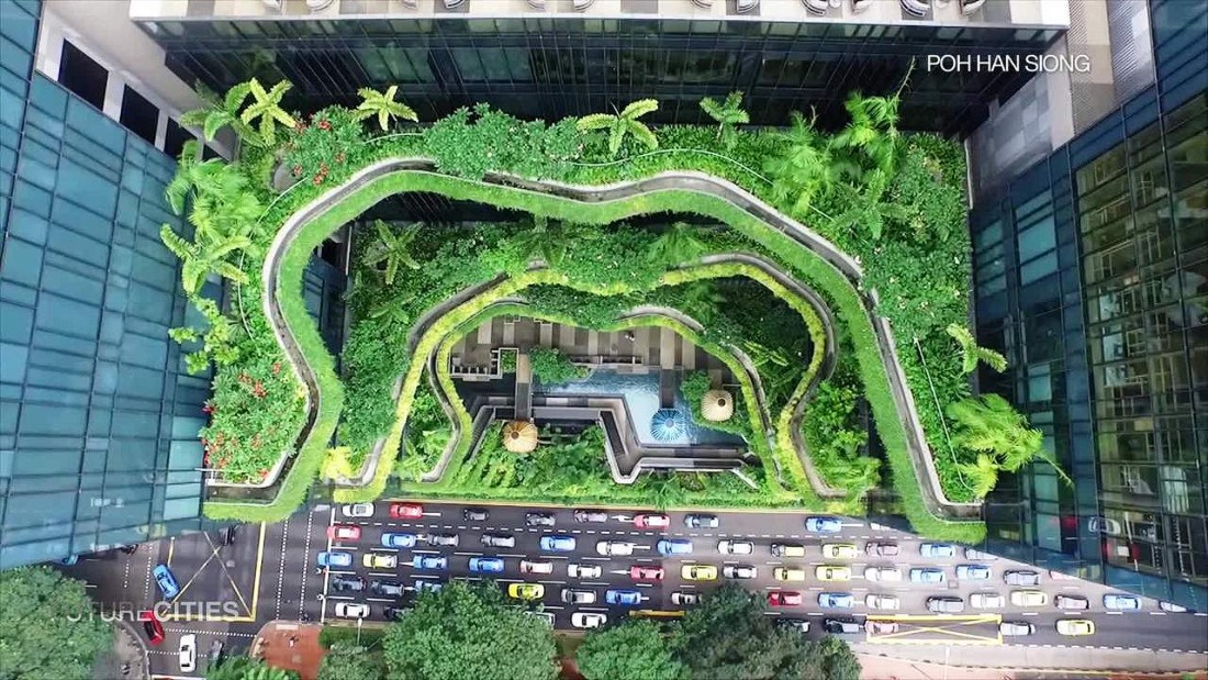 Singapore architecture green spaces in the sky cnn video for Space architecture
