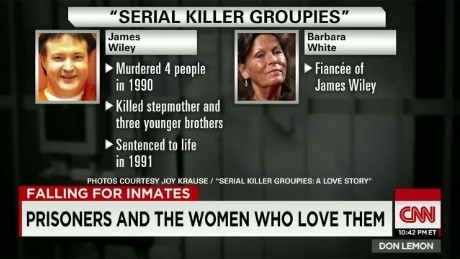 women who love convicts serial killer groupies joy krause casey jordan don lemon cnn tonight_00033812
