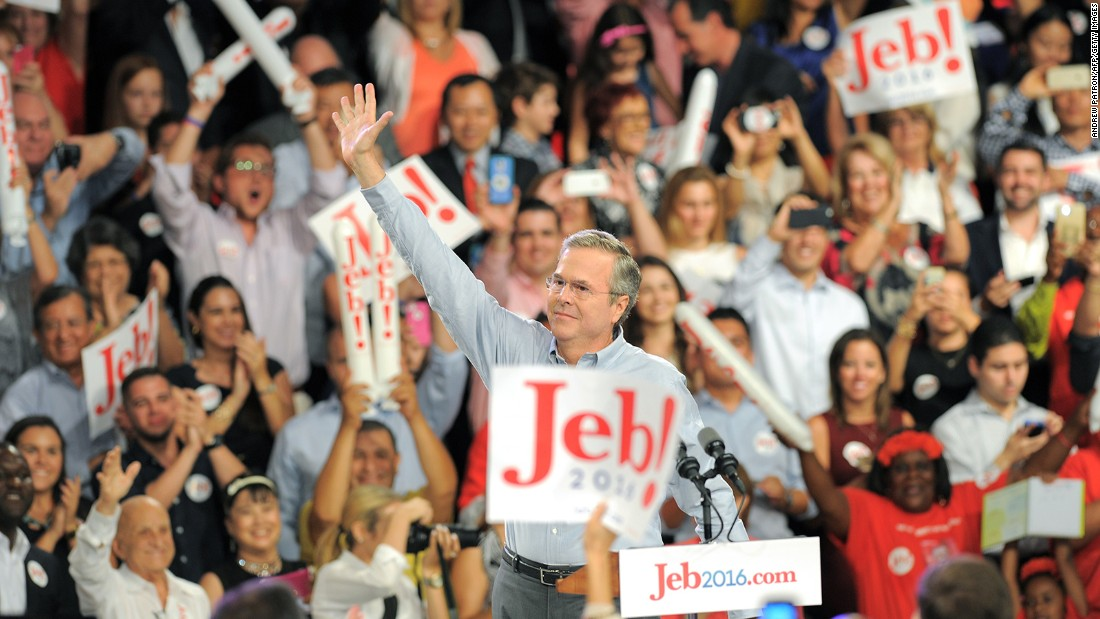 Former Gov. Jeb Bush, R-Florida