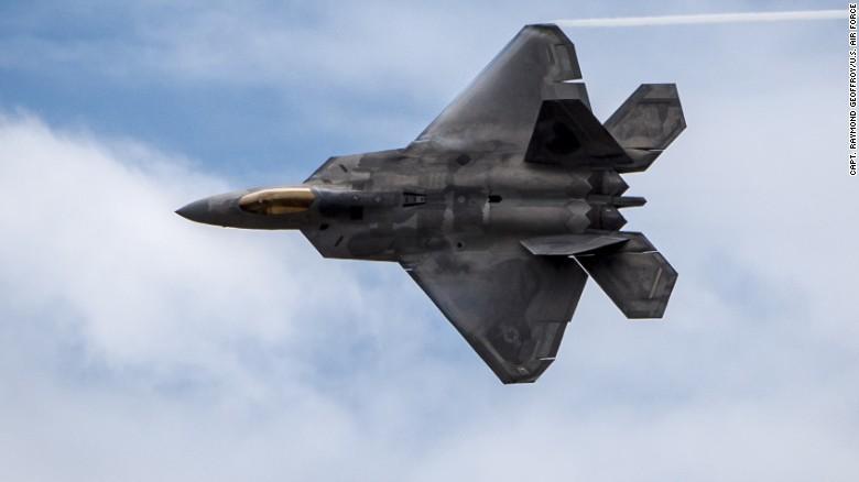 u s sending top line f 22 jet to europe cnnpolitics com