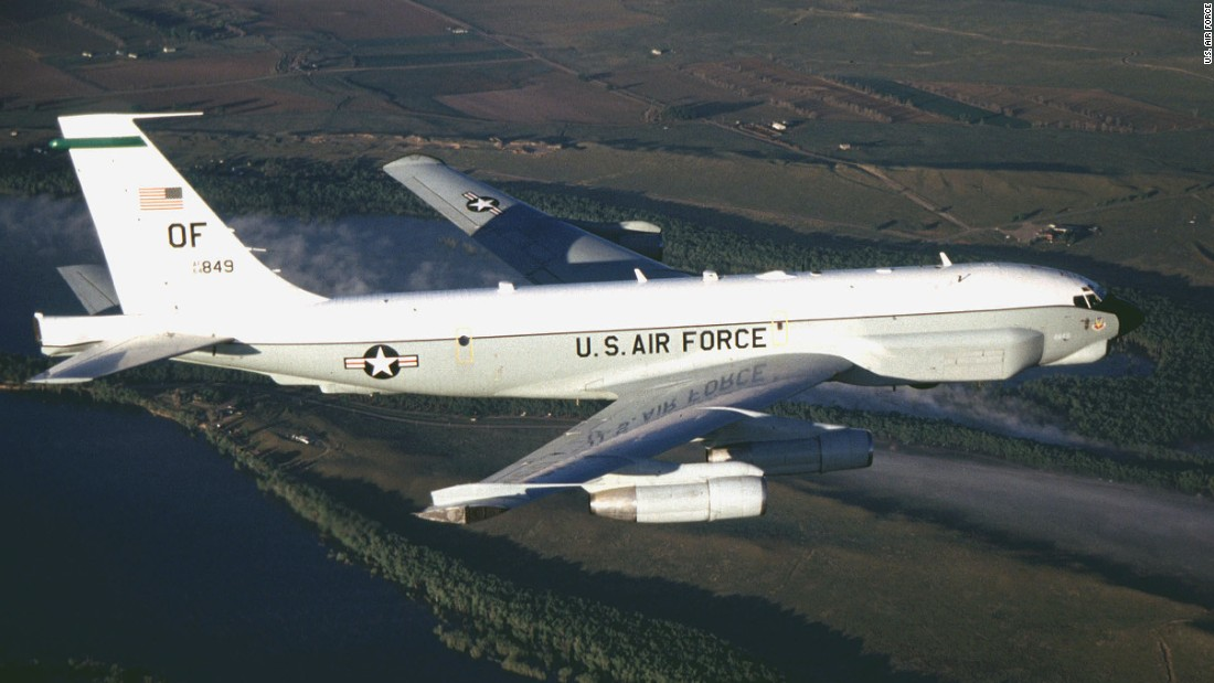 An Air Force RC-135U had a close encounter with a Russian warplane earlier this year.
