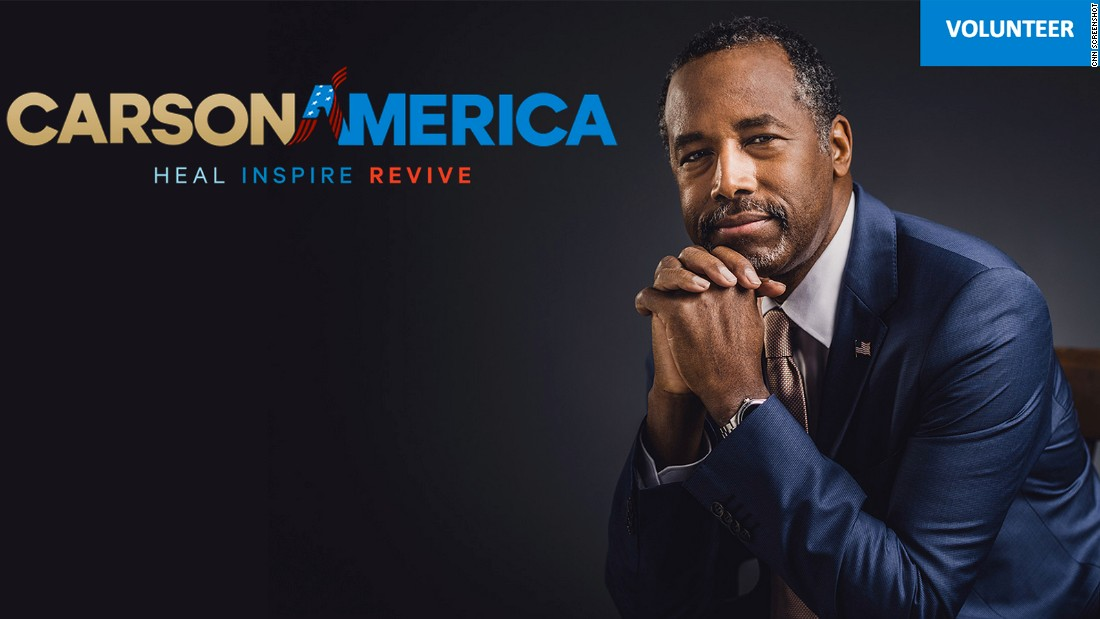Retired neurosurgeon Ben Carson, Republican