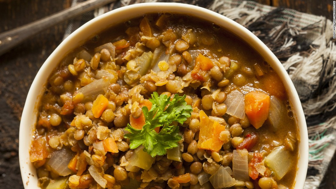 Lentils are another type of legume, like beans, that pack a fiber power punch. A cup of these tasty seeds has 16 grams of fiber.