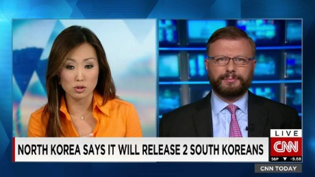 North Korean says it will release 2 South Koreans_00002001
