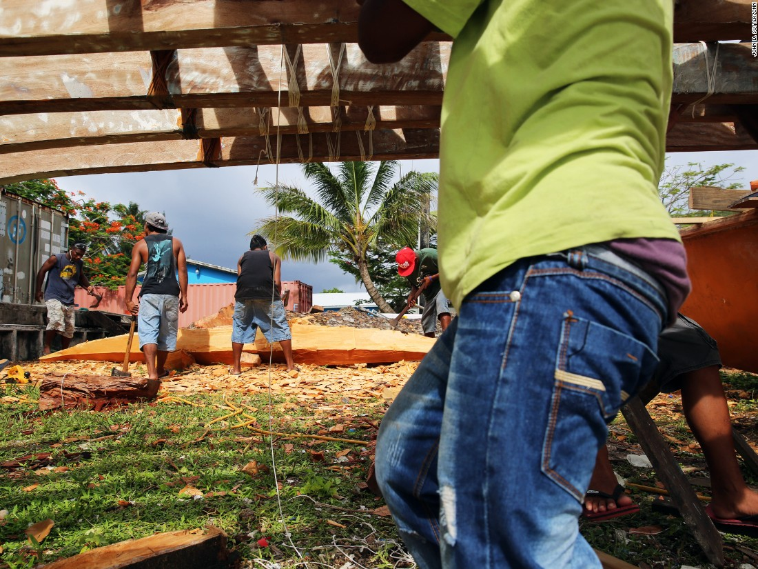 "Marshallese people are known as master canoe builders and navigators. Including the ocean, the nation is three times the size of Texas. But it only has as much land as Washington, D.C. ""We are not a small island country,"" said Tony de Brum, the foreign minister. ""We are a big ocean country."""