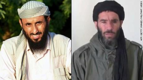 Nasser al-Wuhayshi  and Mokhtar Belmokhtar
