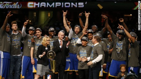 Golden State Warriors down Cavaliers to win NBA title