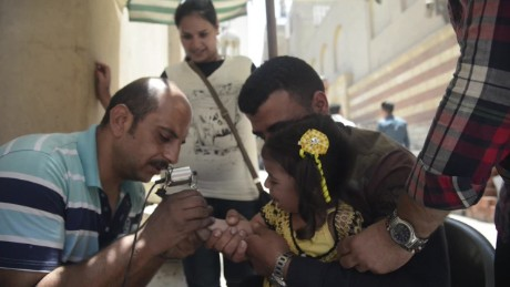 Tattoos as a rite of passage for Coptic Christians