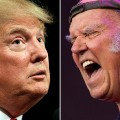 Donald Trump Neil Young split