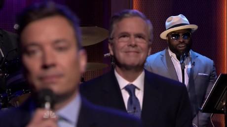 exp Jeb Bush slow jams news Jimmy Fallon Tonight Show_00013111
