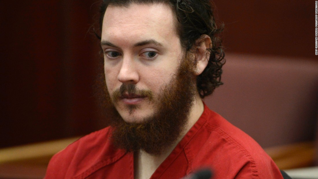 James Holmes opened fire inside a packed movie theater in Aurora, Colorado, also in 2012. He killed 12 people and injured 70.