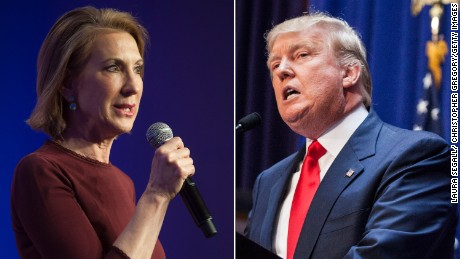 Donald Trump attacks Carly Fiorina's looks