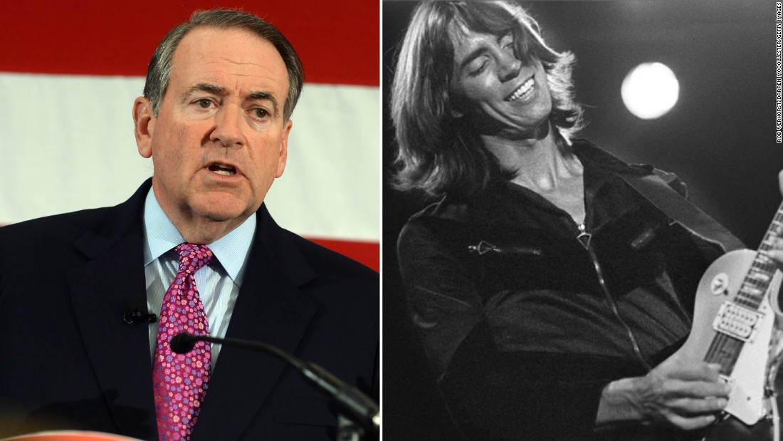 "Boston complained about Republican presidential hopeful Mike Huckabee playing their 1970s hit ""More than a Feeling"" without the band's permission in 2008."