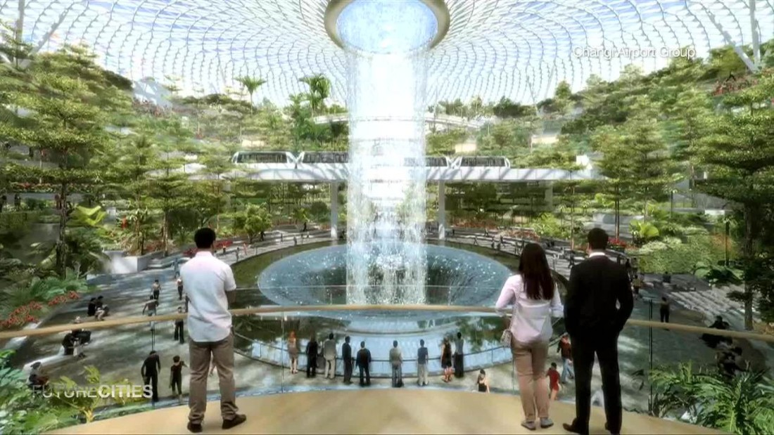 Singapore Builds Airport For The Future Cnn Video