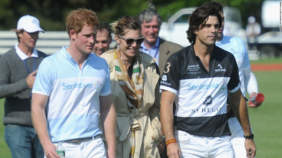 The sport has also brought him in close contact with Prince Harry and the pair have become close through the Prince's Sentebale charity.