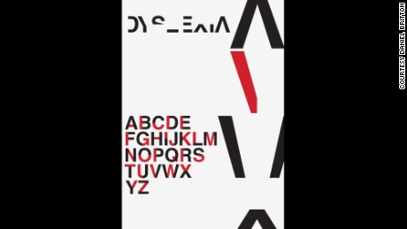 New typeface simulates reading with dyslexia