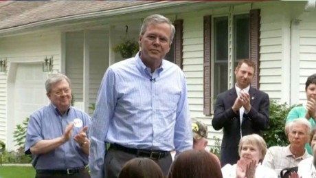 Jeb Bush shrugs off Donald Trump