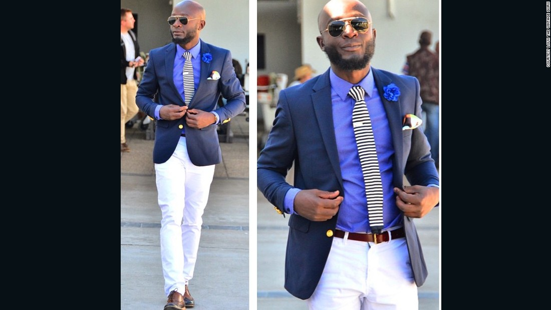 "As he continues to juggle his 9-to-5 job (he works in finance) with his and passion for fashion, the oft-described ""best dressed man in Namibia"" continues to take it all in his stride. ""No, it's not hard. To me (the title) is an honor. But yet it's nothing to me because this is who I am."""