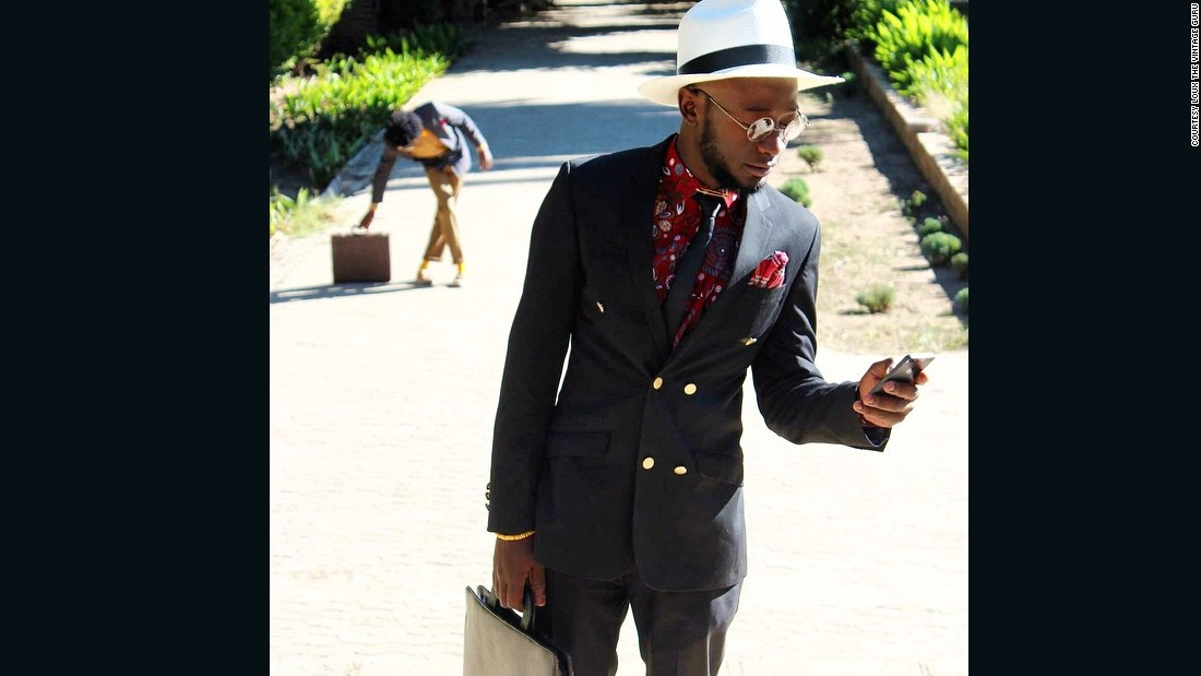 "Lourens ""Loux"" Gebhardt is a part-time designer and stylist who has become a viral superstar in Namibia.<br />"